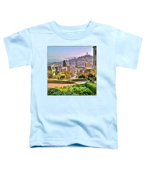 Favorite Places Lombard Street San Francisco California Toddler T-Shirt