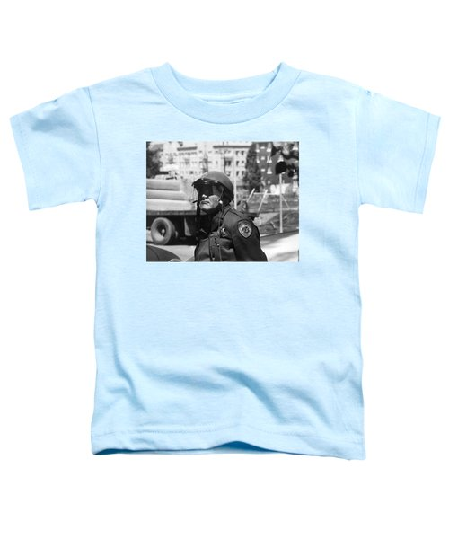Fencing People's Park Toddler T-Shirt