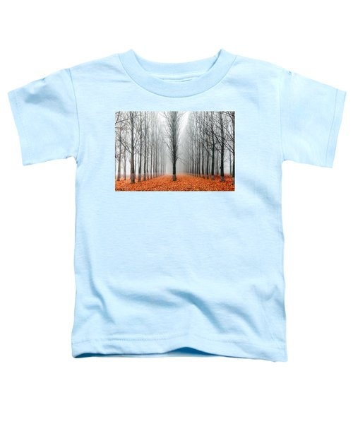 First In The Line Toddler T-Shirt