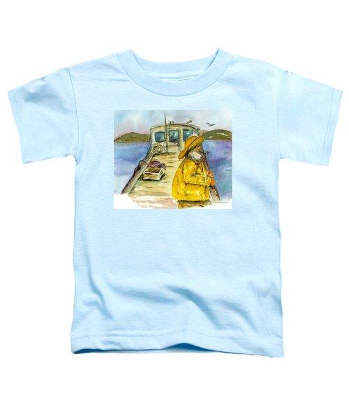 Fisherman Half Moon Bay Toddler T-Shirt