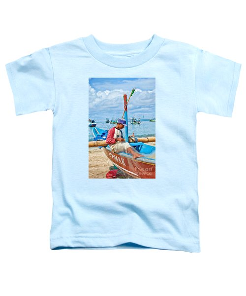 Fisherman Toddler T-Shirt