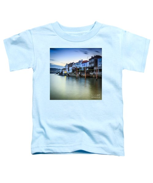 Fishing Town Of Redes Galicia Spain Toddler T-Shirt