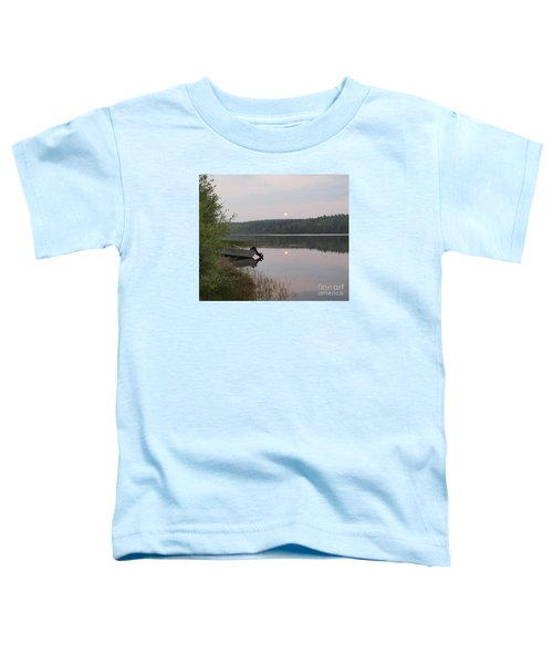 Fishing Tranquility Toddler T-Shirt
