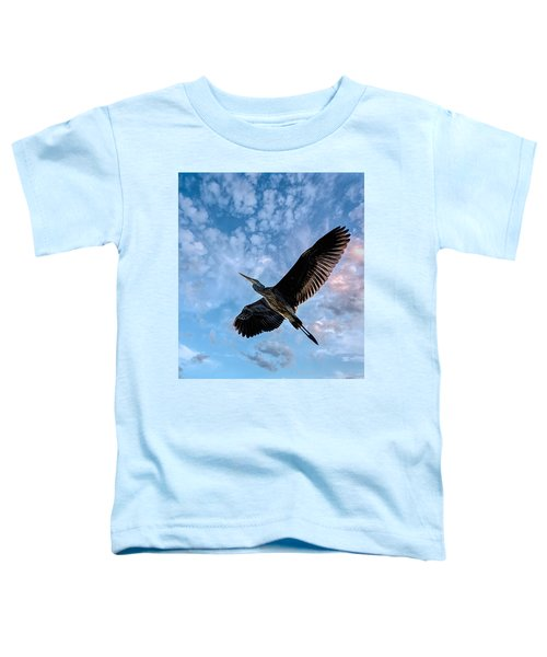 Flight Of The Heron Toddler T-Shirt