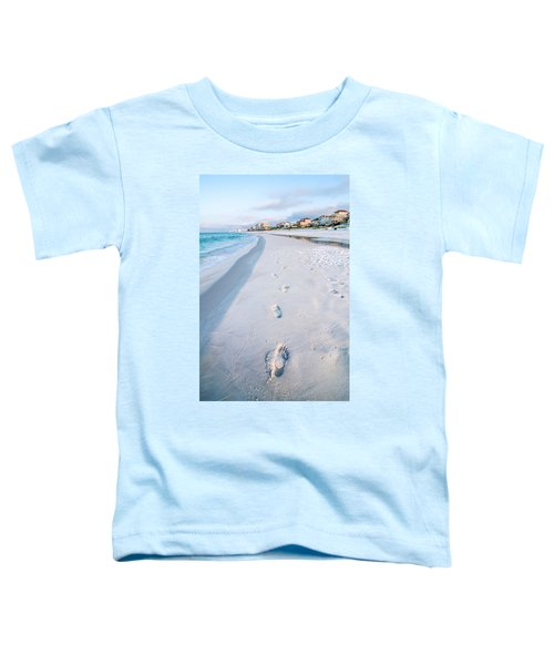 Florida Beach Scene Toddler T-Shirt