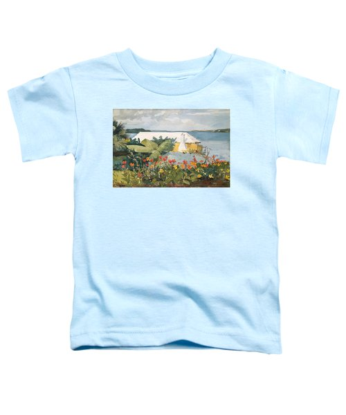 Flower Garden And Bungalow Toddler T-Shirt