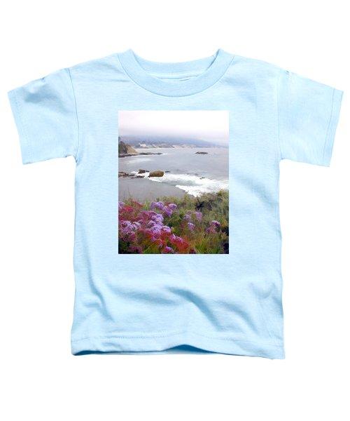 Foggy Day In Laguna Beach Toddler T-Shirt