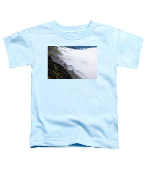 Foggy Hillside Toddler T-Shirt