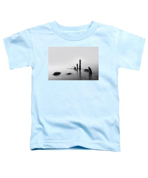 Foggy New England Sea Toddler T-Shirt