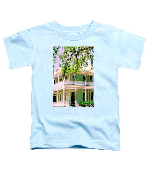 On The Porch Savannah Ga Toddler T-Shirt