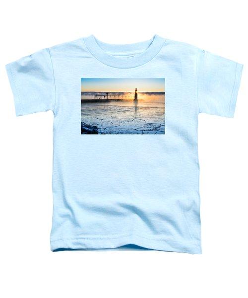 Frigid Sunrise Fog  Toddler T-Shirt
