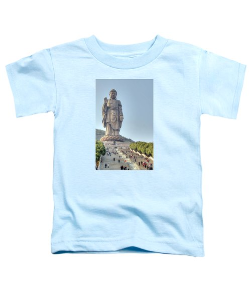 Giant Buddha Toddler T-Shirt