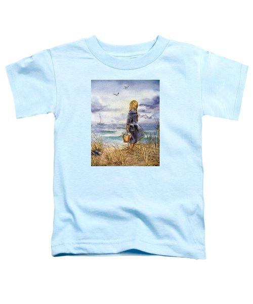 Girl And The Ocean Toddler T-Shirt