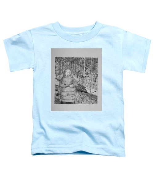 Girl In The Forest Toddler T-Shirt