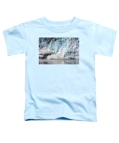 Glacier Calving Margerie Toddler T-Shirt
