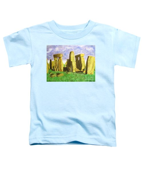 Golden Stonehenge Toddler T-Shirt