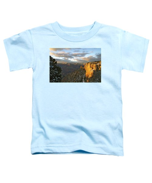 Grand Canyon. Winter Sunset Toddler T-Shirt