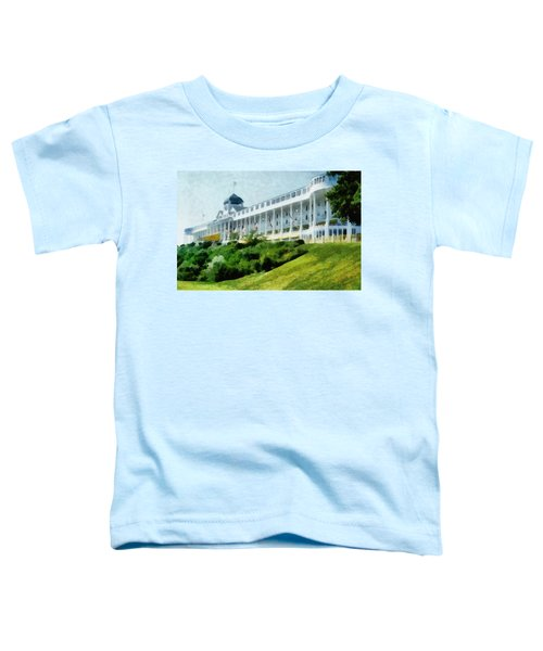 Grand Hotel Mackinac Island Ll Toddler T-Shirt