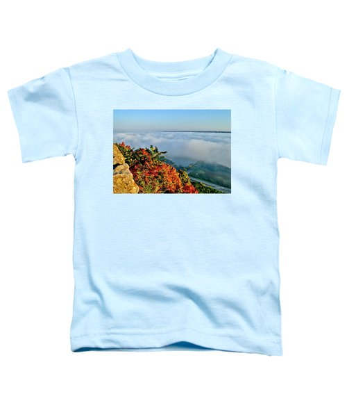 Great River Road Fog Toddler T-Shirt