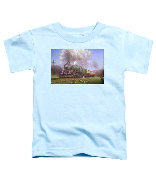 Gwr King Class On Dainton Bank. Toddler T-Shirt