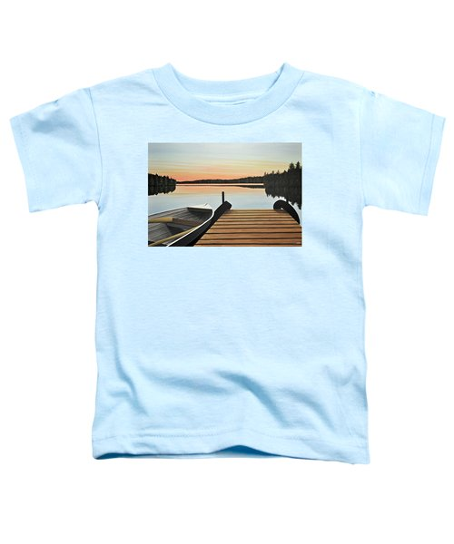Haliburton Dock Toddler T-Shirt