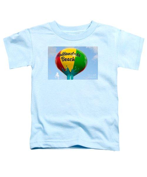 Hallendale Beach Water Tower Toddler T-Shirt