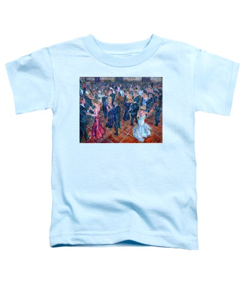 Having A Ball - Dancers Toddler T-Shirt
