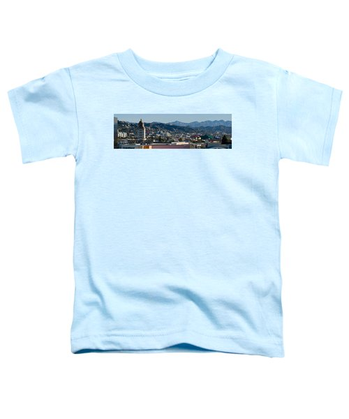 High Angle View Of A City, Beverly Toddler T-Shirt by Panoramic Images