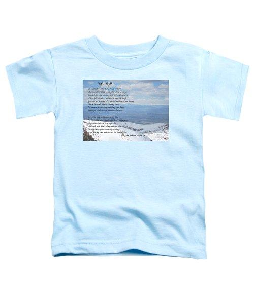 High Flight Toddler T-Shirt