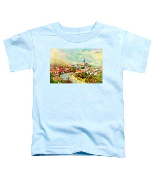 Historic Centre Of Cesky Krumlov Toddler T-Shirt