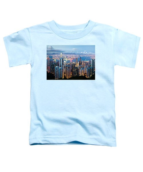 Hong Kong At Dusk Toddler T-Shirt