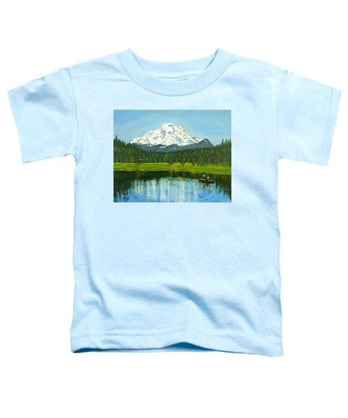 Hosmer Lake Toddler T-Shirt