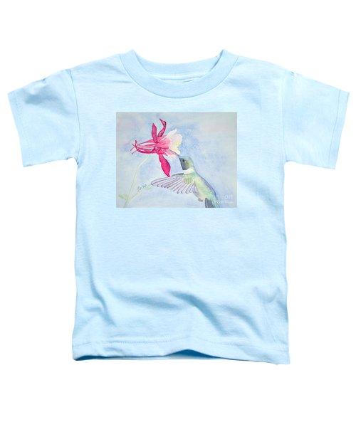 Hummingbird And Columbine Toddler T-Shirt