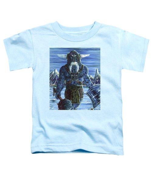 Ice Viking Toddler T-Shirt