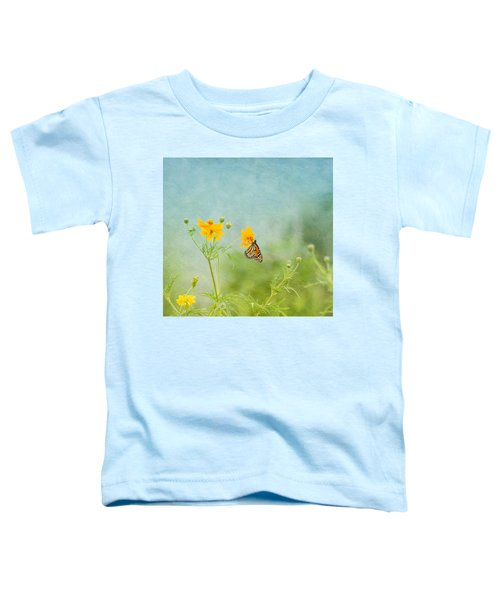 In The Garden - Monarch Butterfly Toddler T-Shirt