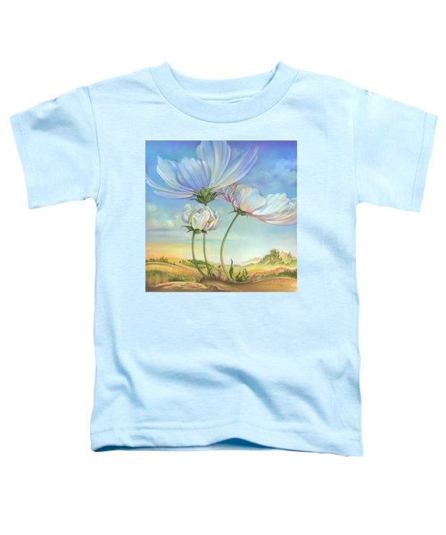 In The Half-shadow Of Wild Flowers Toddler T-Shirt