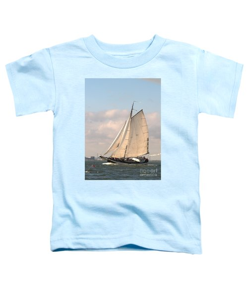 In The Race Toddler T-Shirt