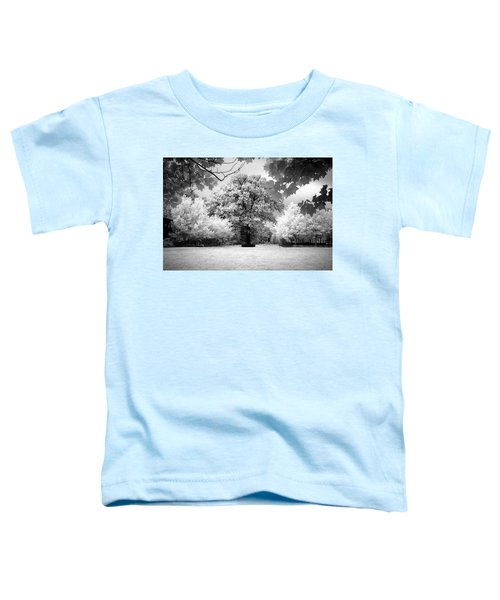 Toddler T-Shirt featuring the photograph Infrared Majesty by Andrea Platt