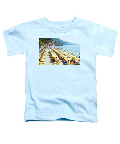 Italy Cinque Terre Monterosso - Toddler T-Shirt
