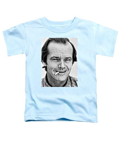 Jack Nicholson Toddler T-Shirt by Florian Rodarte