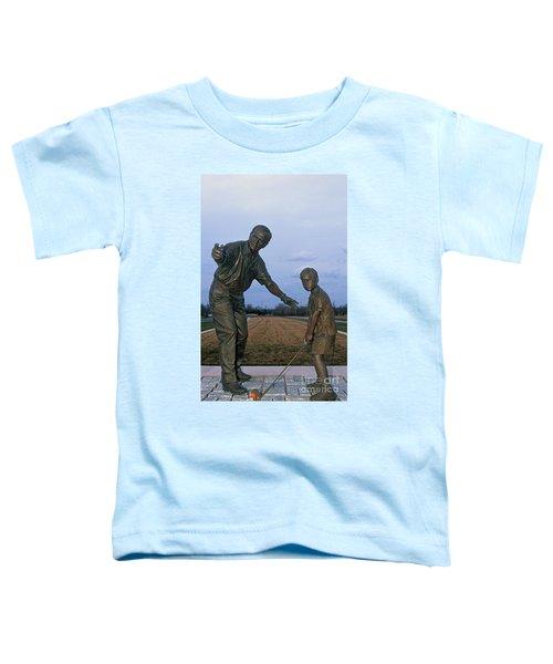 36u-245 Jack Nicklaus Sculpture Photo Toddler T-Shirt