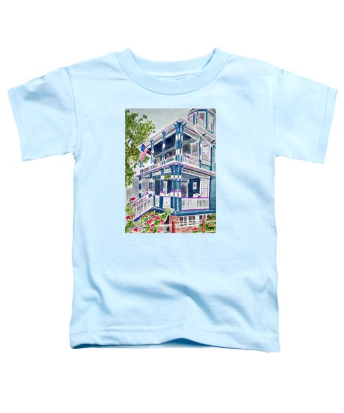 Jackson Street Inn Of Cape May Toddler T-Shirt