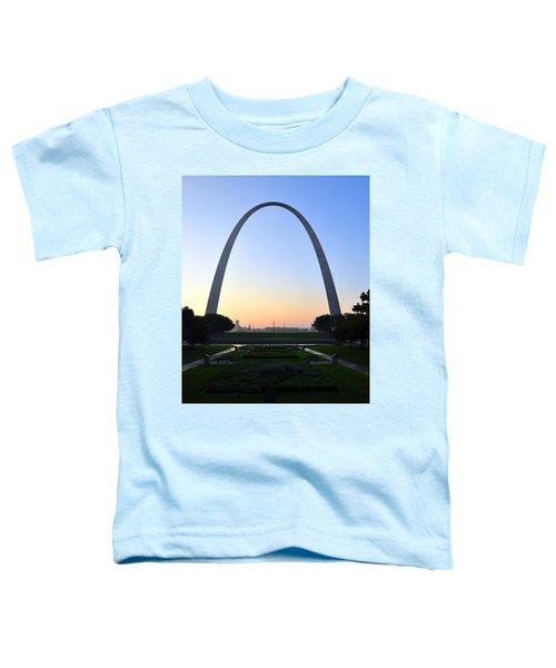 Jefferson National Expansion Memorial Toddler T-Shirt