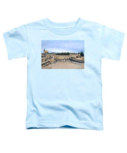 Jerusalem The Western Wall Toddler T-Shirt