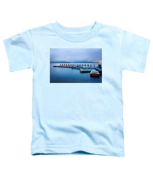Jetty At Sun Moon Lake Toddler T-Shirt