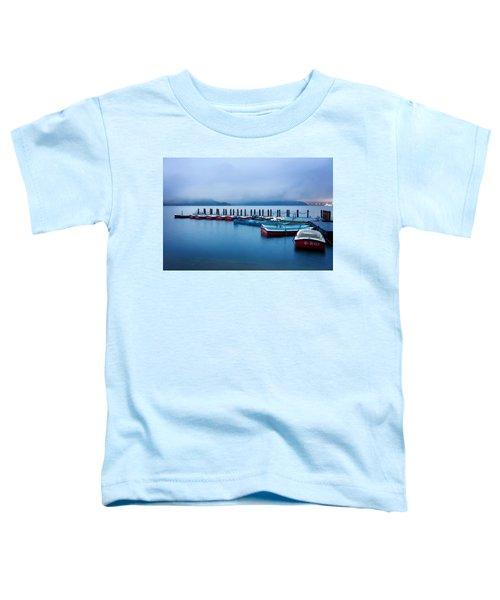 Jetty At Sun Moon Lake Toddler T-Shirt