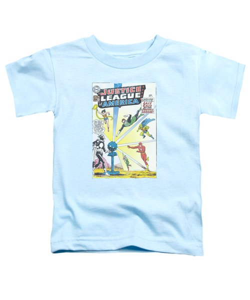 Jla - Vintage Cover 12 Toddler T-Shirt