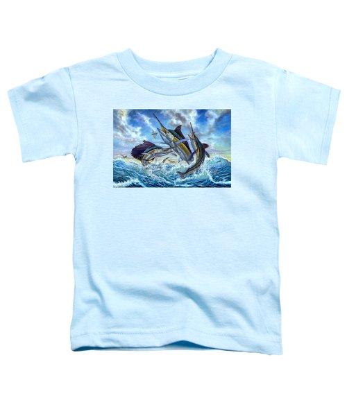 Jumping Grand Slam And Flyingfish Toddler T-Shirt
