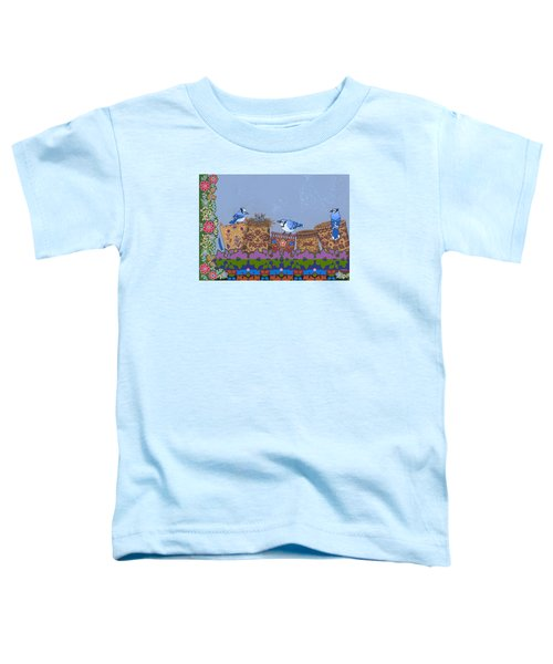 Toddler T-Shirt featuring the painting Keeper Of Songs by Chholing Taha