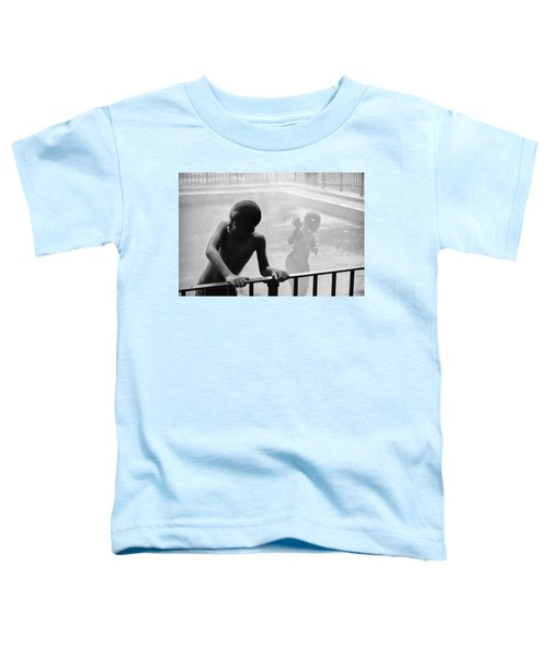 Kid In Sprinkler Toddler T-Shirt